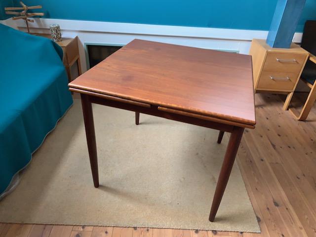 チーク伸長式ダイニングテーブル C
